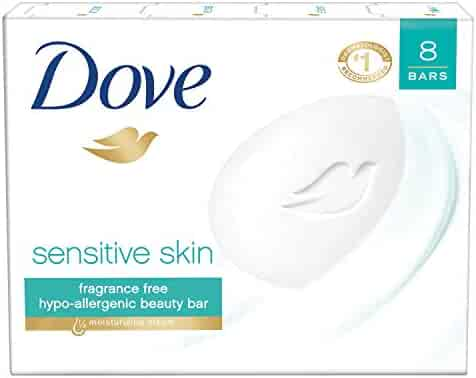 Dove Beauty Bar, Sensitive Skin, 4 oz, 8 bar