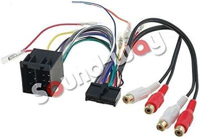 Sound Way Adapter Kabelbaum Iso Kompatibel Mit Autoradio Clatronic 20 Pin Auto
