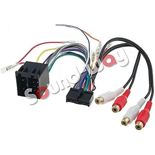 Cable adaptador ISO para radio Clatronic de 20 pines: Amazon ...