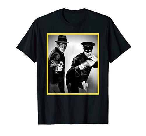 ROCKSTAR Bruce - Green Hornet - Martial Arts - Yellow Frame T-Shirt