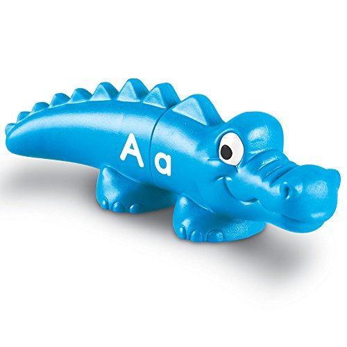415LNORMmCL - Match upper and lowercase letters with these two-piece gators
