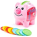 Fisher-Price Laugh & Learn Smart Stages Piggy Bank, Cha-Ching Get Ready to Cash in on Playtime Fun and Learning