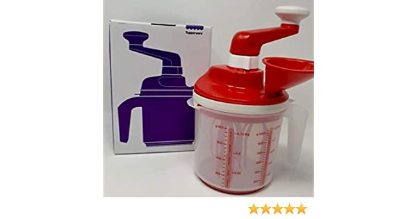 Tupperware Speedy Chef Easy Mixx - Mezclador de 2 Niveles, Color Blanco: Amazon.es