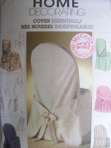 McCall's Home Decorating Cover Essentials Pattern # 2787