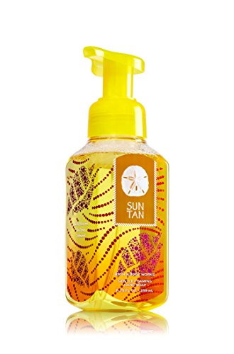 Bath & Body Works Gentle Foaming Hand Soap Sun Tan (Beach Scented Linen Spray compare prices)