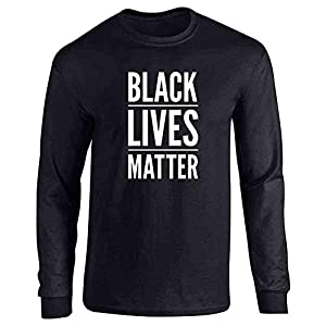 Black Lives Matter Full Long Sleeve Tee T-Shirt