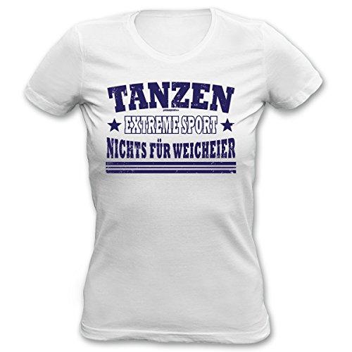 Lady Shirt Tanzen Extreme Sport Damen Shirt Geburtstag Geschenk T-Shirt geil bedruckt Goodman Design