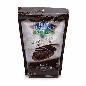 diamond almonds chocolate - 2