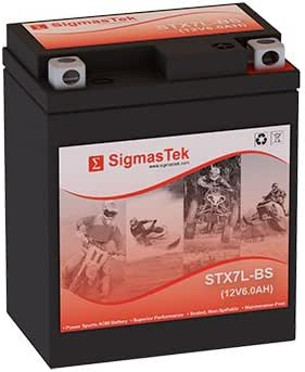 YTX7L-BS Motorcycle Battery (Replacement)