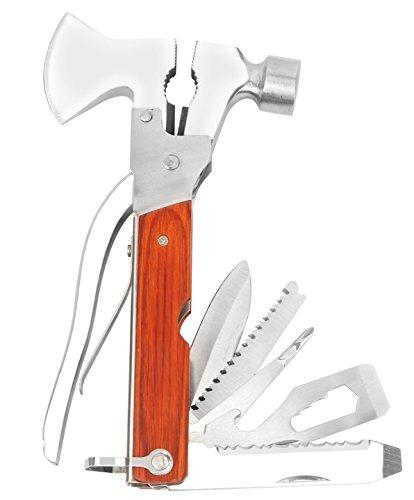 iMounTEK Multi Tool Set Pliers Screwdrivers Hammer Axe Wi...