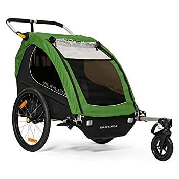 Image of Baby Burley Encore, 2 Seat Kids Bike Trailer & Stroller