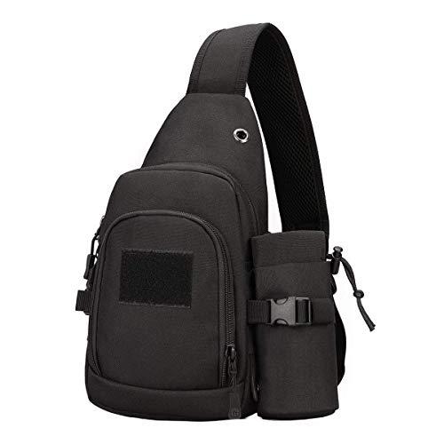 Messenger per per per facilmente tracolla per mimetica trasportare Kai con diagonale Usa Bicicletta borsa Bollitore borsa colori acqua Hung 6 nero multi 7wARf