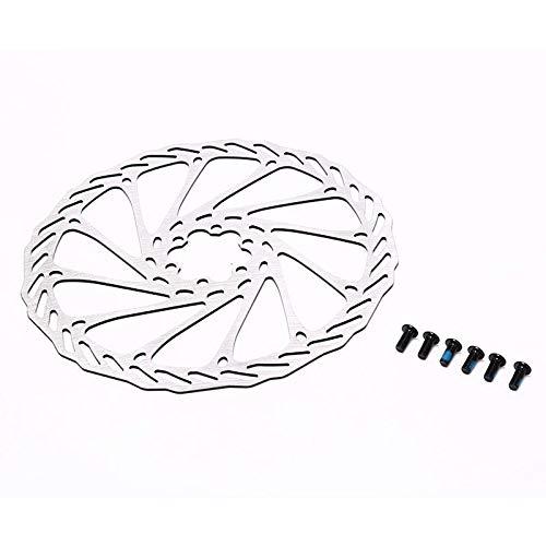 Utini Centerline 120 203 Mm Bike Brake Rotor MTB/Road Disc Brake/Cyclocross Bike Brake Disc 6-Bolt - (Color: 203mm)
