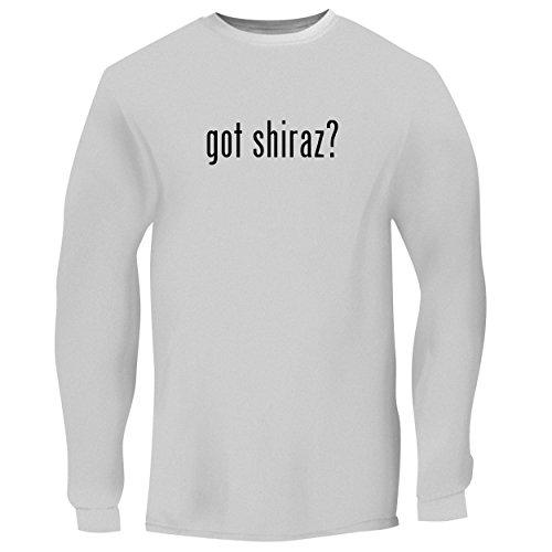 BH Cool Designs got Shiraz? - Men's Long Sleeve Graphic Tee, White, ()