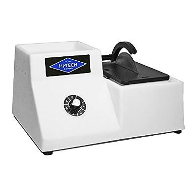 "Hi-Tech Diamond 5"" Lapidary Trim Saw | Cutting Sawing Trimming Machine | Includes 5"" Diamond Saw Blade"