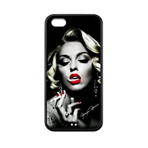 Generic Marilyn Monroe Smoking Case Cover for iPhone 5C