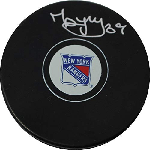 - PavelBuchnevich Signed New York Rangers Puck - Steiner Sports Certified - Autographed NHL Pucks