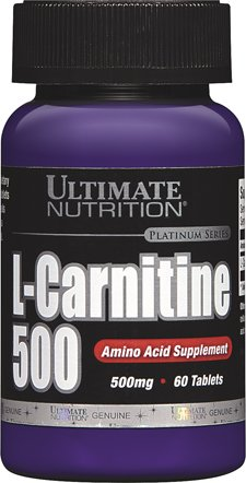 Ultimate Nutrition L-Carnitine (60 Tablets - 500mg) by Ultimate Nutrition