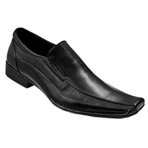 Blancho Hombres A-131-bk Zapatos De Novia De Moda Zapatos De Cuero