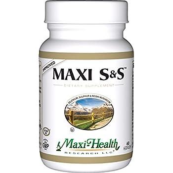 Amazon Com Maxi Health S Amp S Selenium Sulphur Amp Reishi