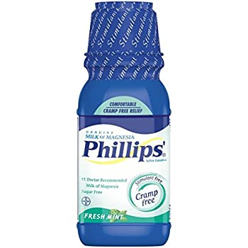 Phillips Milk of Magnesia, Fresh Mint 12 oz