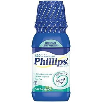 Phillips Milk of Magnesia, Fresh Mint 12 oz
