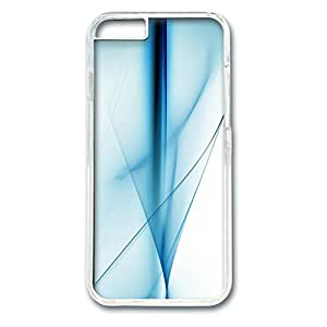 E-luckiycase PC Hard Shell Abstract Background 09 Transparent Skin Edges for Iphone 6 Case
