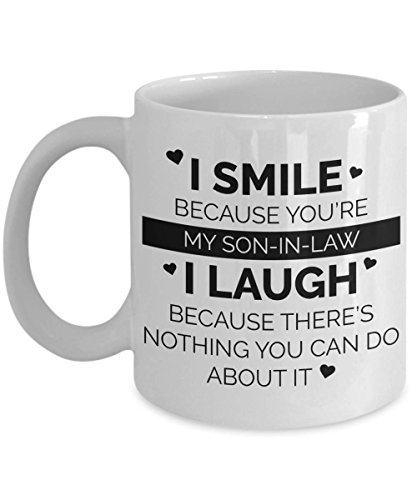 Son In Law Coffee Mug | Gifts For Son In Law | Gift For Him | Gift For Son In Law | Son In Law Gift | Son In Law Birthday | For Son In Law MUG 11oz