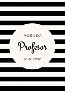 Agenda para Profesores 2019/2020: Formato A4   Cuaderno del ...