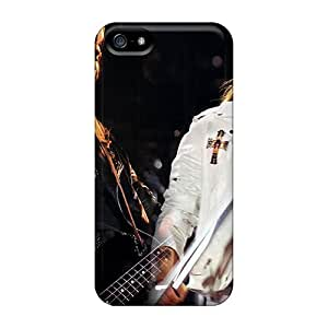 Shock-Absorbing Hard Cell-phone Case For Iphone 5/5s With Customized High Resolution Guns N Roses Skin MansourMurray