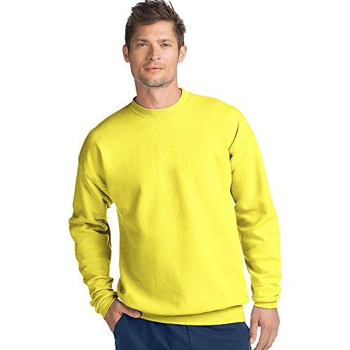 Hanes Adult ComfortBlend Crewneck Rib-Knit Fleece Sweatshirt