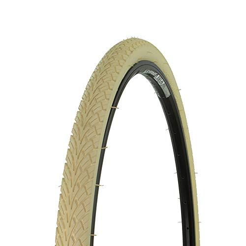 Bicycle Street Tire 700x38c G-5001, Road Bike, Fixie, Hybrid, (Cream)