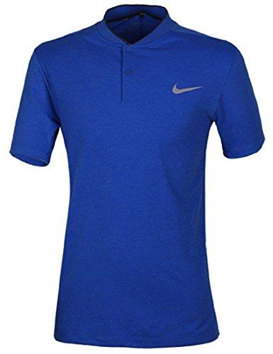 NIKE ナイキ DRI-FIT MMフライ ウールSSポロ ゴルフウェア 半袖ポロシャツ XLサイズ(176-185cm) 国内正規品 802839 ゲームロイヤル
