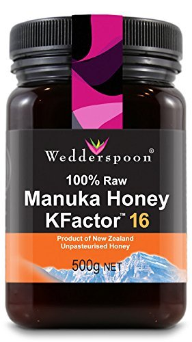Wedderspoon Raw Manuka Honey Active 16+ 500G Bundle Pack Of 4