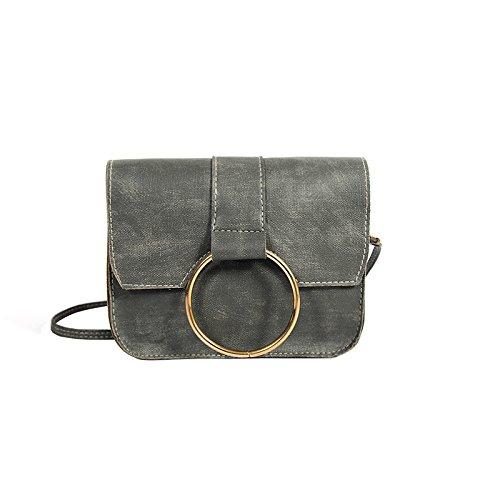 Señoras bolso de negro Bolso hombro nuevo gray Mini bolso señoras señoras rwrBxn7q