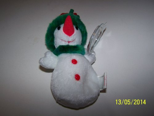 Ty Jingle Beanies - Snowgirl (Size 5 inches)