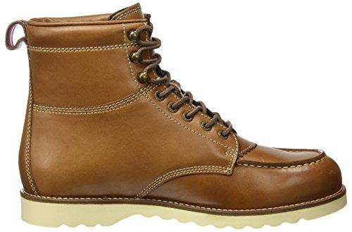 Tommy Hilfiger Herren R2285udy 1a Chukka Boots Braun (Winter Cognac)