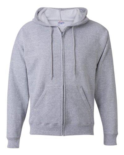 Hanes mens P180 athletic hoodies, Light Steel, Large US