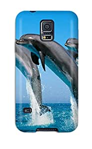 David Shepelsky's Shop 9696062K70944271 Hot Case Cover Protector For Galaxy S5- Dolphins
