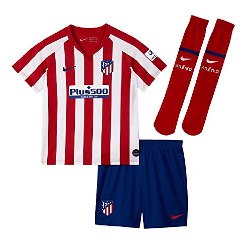 Nike 2019-2020 Atletico Madrid Home Little Boys Mini Kit (Kits Junior Football)