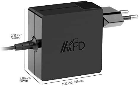 KFD 45W Cargador Portátil Adaptador Corriente para ASUS Vivobook ...