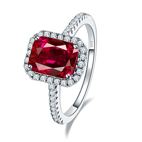 vintage ruby engagement rings - 9
