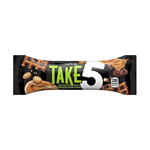 Take5 Candy Bar, 1.5-Ounce (Pack of 48) -