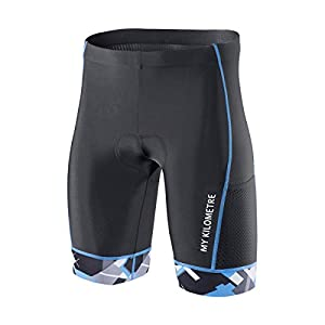 "My Kilometre Triathlon Shorts Mens 9""Black 