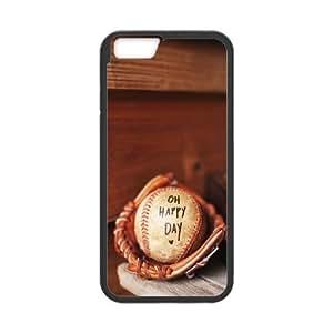 "DIY Love baseball Phone Case, DIY Hard Back Durable Case for iphone6 plus 5.5"" with Love baseball (Pattern-8)"