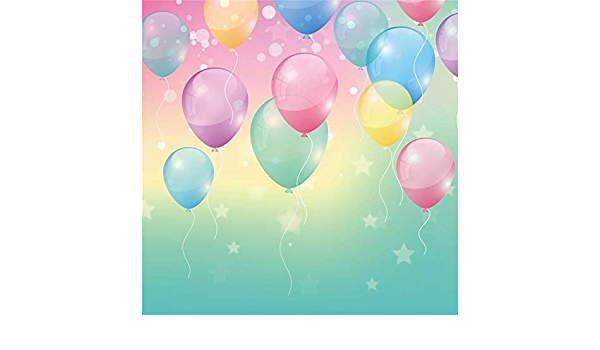 Ooozkken 10X10FT Balloon Background Bright Theme Newborn Photography Studio Photography