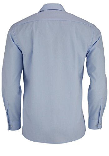 ETERNA Modern Fit Hemd super langer Arm hellblau AL 72