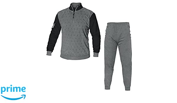 Pijama de invierno afelpado de hombre adulto de la Juventus FC, con logotipo nuevo de la Juventus, producto oficial: Amazon.es: Deportes y aire libre
