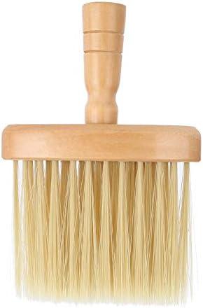 Camidy Kappers Hals Gezicht Duster Borstel Houten Sweep Borstel Haarreiniging Duster Na Haarsnit Salon Haarborstel