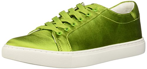 Kenneth Cole New York Women's Kam Techni-Cole Satin Lace-up Sneaker Green I085eO